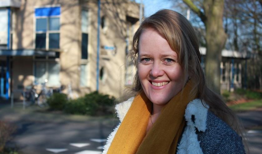 CU-gemeenteraadslid Jennifer Elskamp.(Foto: ChristenUnie Nunspeet)