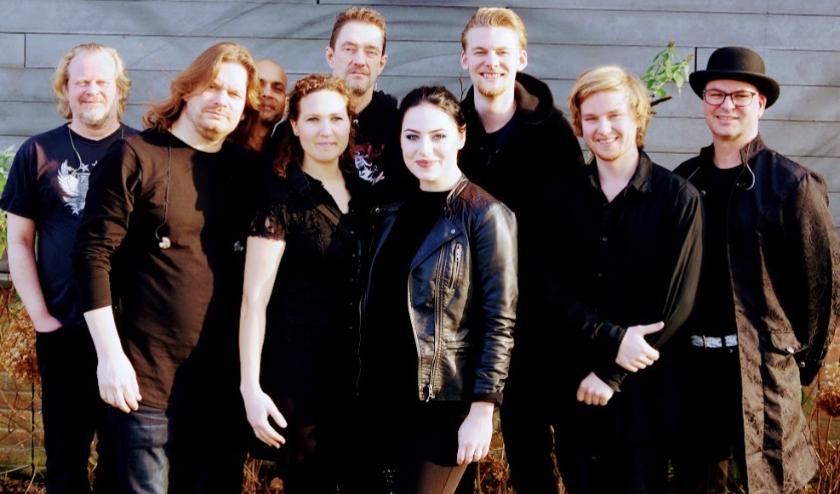De cast van Symphonic Rock Night. Foto: Rob Ulrich
