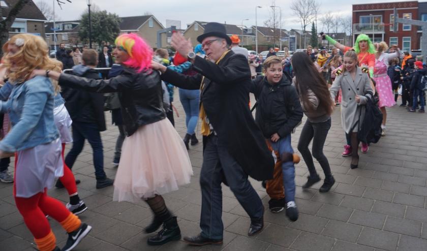 carnaval op Willibrordusschool
