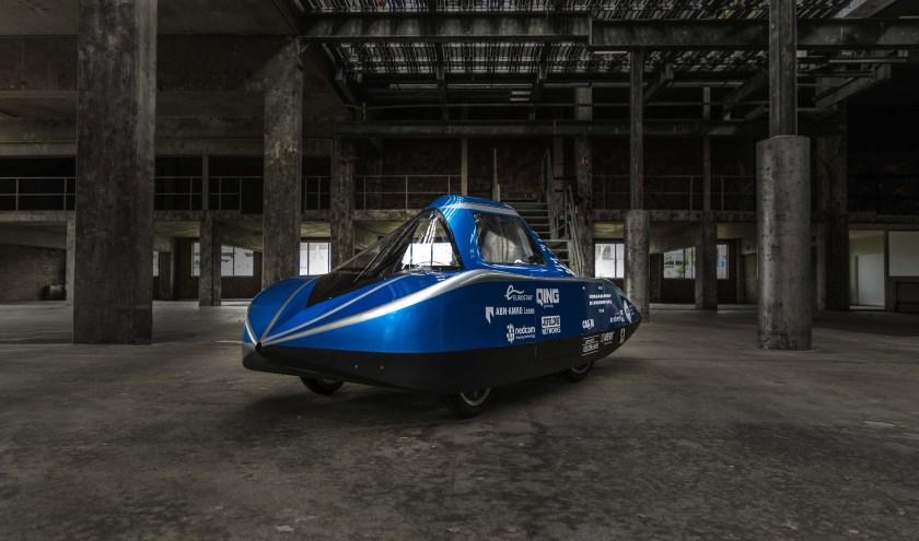De waterstofauto.