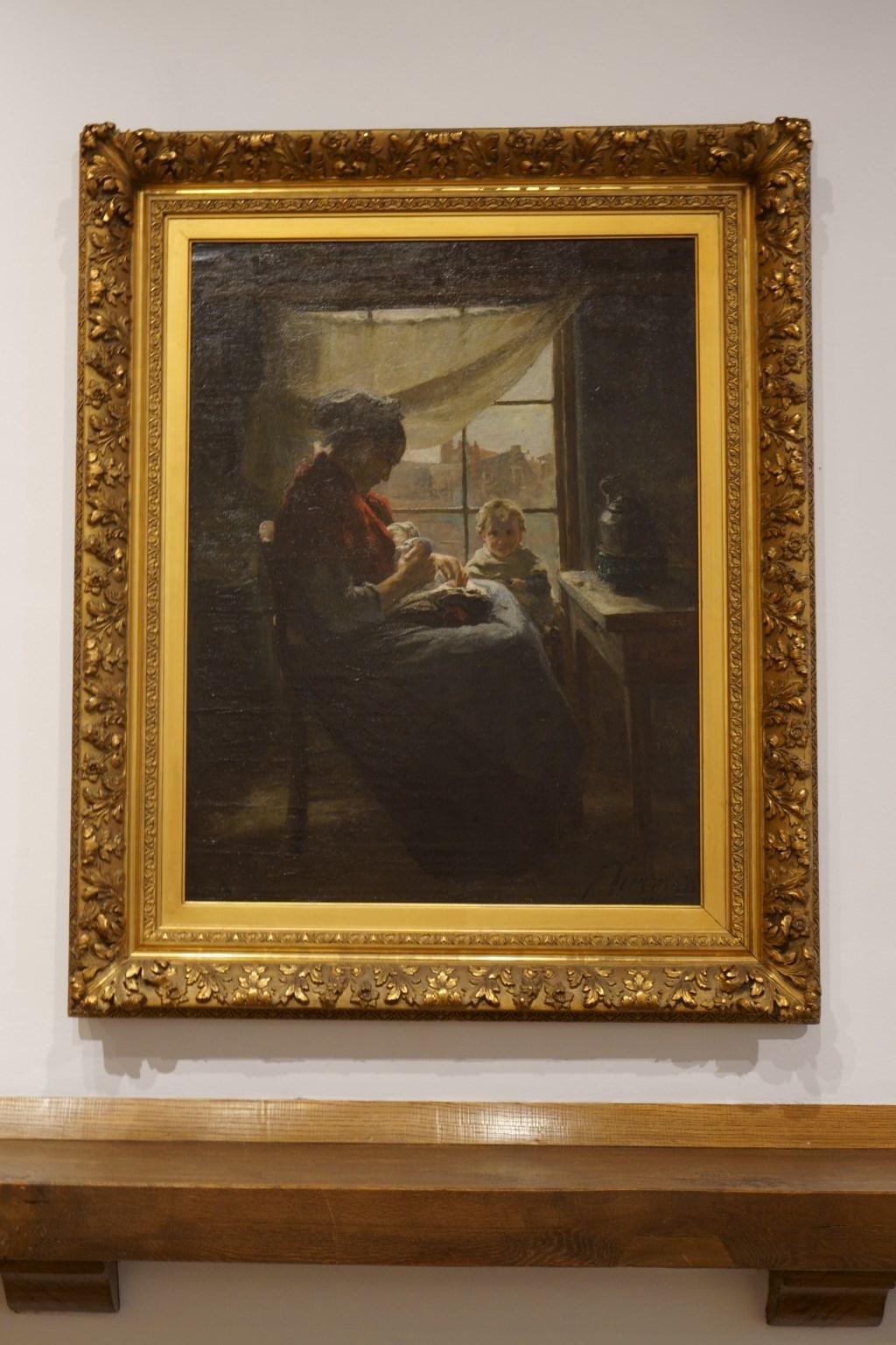 Voor dit werk 'Armoede' van Jan Voerman senior is het Voerman Museum Hattem gestart met een crowdfundingsactie.