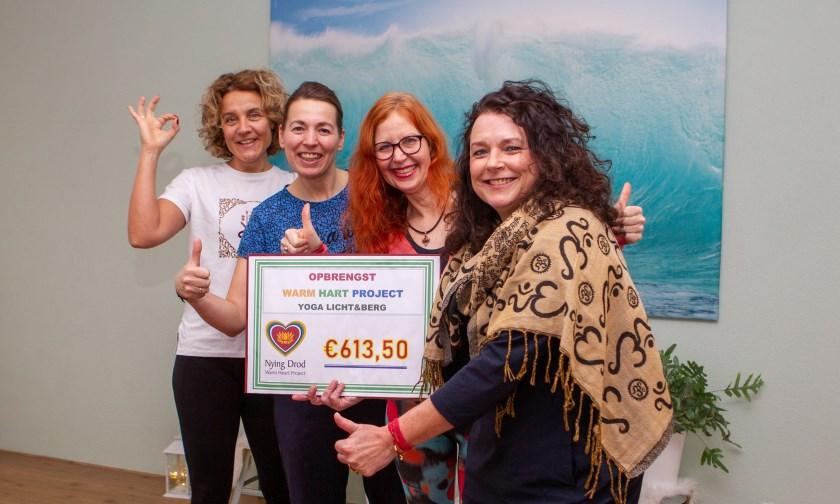 V.l.n.r.: Peggy Engelen, Angelas Stoker, Annet Schriemer en Sabine Lichtenberg.