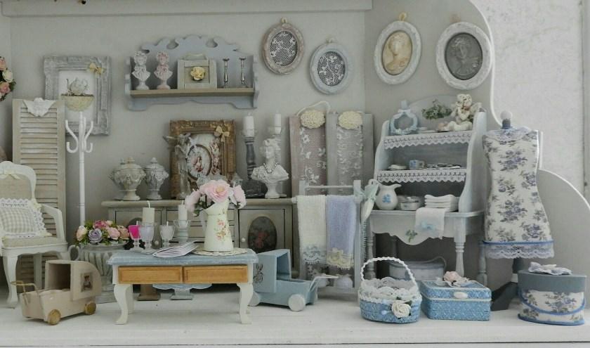 Er is weer genoeg te beleven en te bekijken bij de Poppenhuizen, Poppen & Miniaturenbeurs