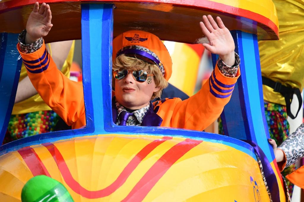 Optocht Reusel carnaval Foto: Jan Wijten © DPG Media