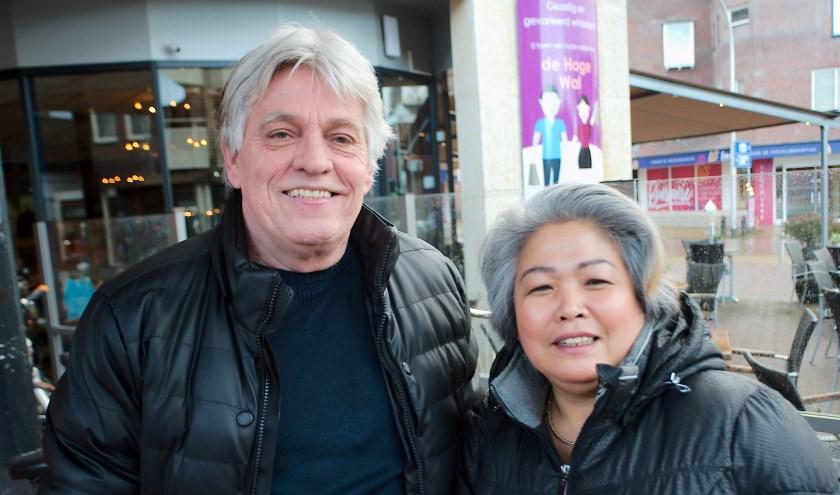 Yeap en Anne Kupen: ''Wij hebben zelf een cadeautje verdiend...''  (Foto: Gert Perdon)