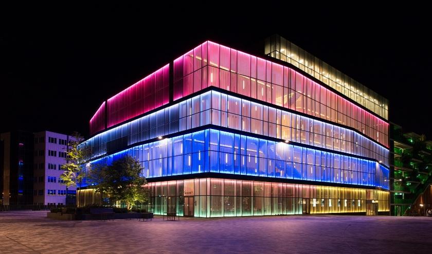 Stadstheater en kunstencentrum De Kom is tot en met 6 april gesloten. Foto: Henri van Gelder