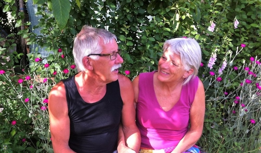 Thea en Ronald hebben hun plekje gevonden in Frankrijk (privé-foto).