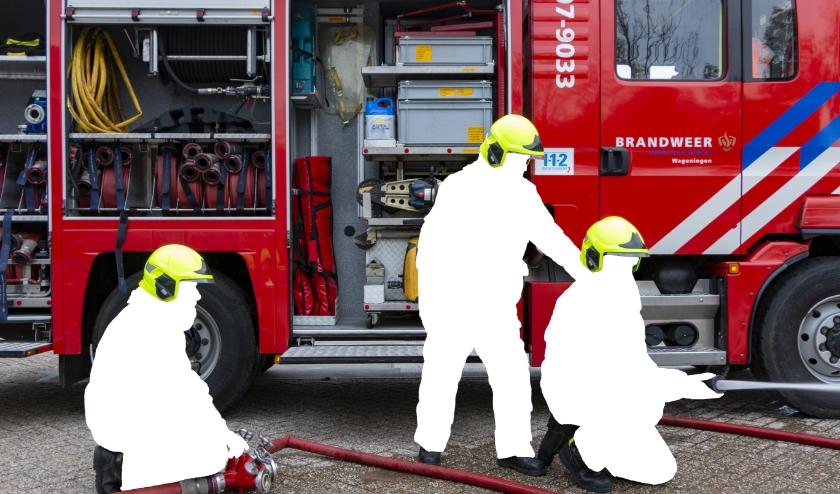Zonder brandweervrijwilligers terug naar de Middeleeuwen en moeten we blussen met emmertjes water. (foto: Huib Loeb, Camera Club Wageningen)
