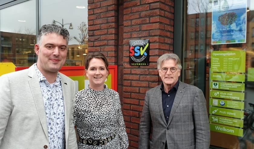 Ondernemer Richard Schuldink ontving het keurmerk op 6 maart, onder andere voor hun duurzame keuzes