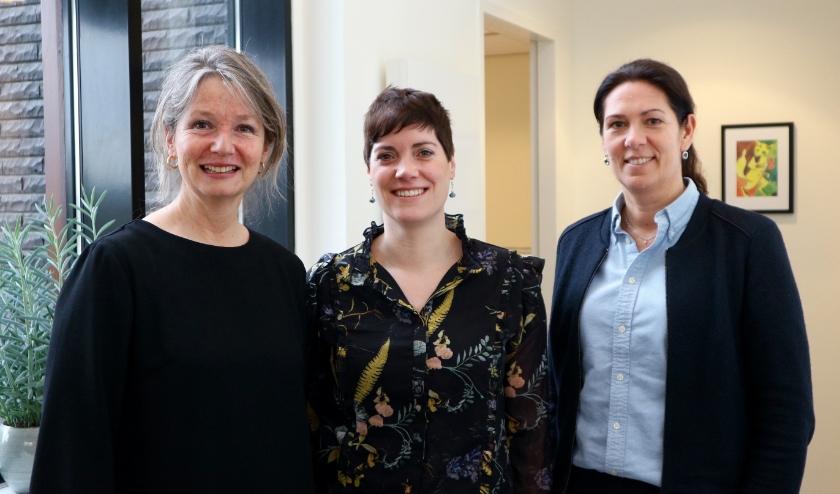 Psycholoog Daan Dumon Tak, coach Judith Mangnus en notaris Cindy van Goethem zijn alle drie aangesloten bij Het Zeeuwse Scheidingshuis. FOTO: Gertie De Boey