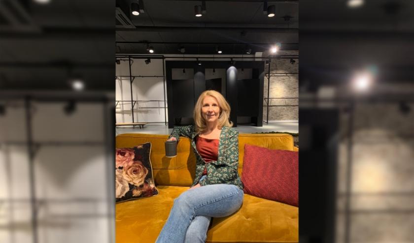 Tanja Hoeks in haar nu 'lege' Blue Jeanzz winkel.