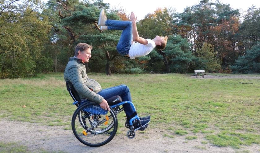 De vader van Rutger heeft MS en zit sinds twee jaar in een rolstoel.