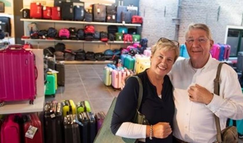 Ben en Ellen Kamp hebben samen vele jaren met hart en ziel Kamp Lederwaren gerund