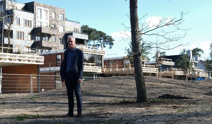 """Evert-Jan Roelofsen: """"Tijdens de bouw zijn sommige bomen blijven staan."""""""