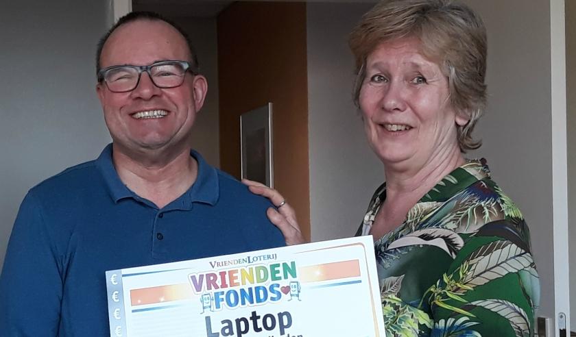 De hartenwens van Guido Kessler uit Apeldoorn gaat in vervulling dankzij een aanvraag van de Luisterlijn bij het VriendenFonds van de VriendenLoterij.