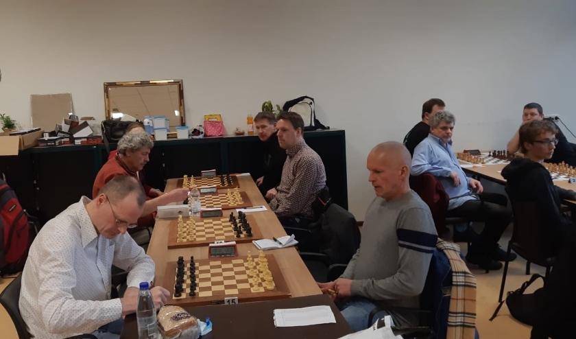 BSV Bennekom verloor met 2.5 tegen 5,5 van Max Euwe 2 uit Enschede.