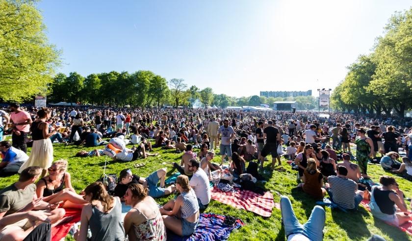 Het Bevrijdingsfestival Utrecht, op 5 mei in Park Transwijk, gaat vanwege het coronavirus niet door. Foto: www.marcelkrijgsman.nl