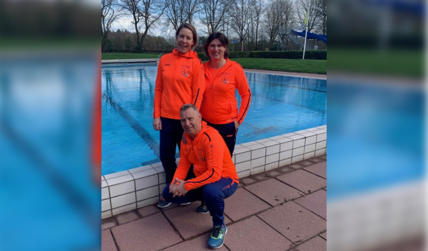 Ruud Odijk, Nicole v/d Vlag-Egmond en Jolanda de Caluwe zijn de teamleden van Team Deventer.
