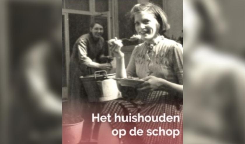 De tentoonstelling 'Het huishouden op de schop' is te zien in het Volksbuurtmuseum.