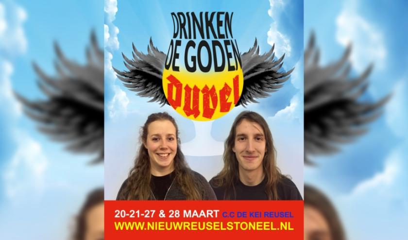 Anke van Herk en Joost Gevers zijn druk bezig met de voorbereidingen. Zij verklappen al vast een heel klein beetje aan het publiek.