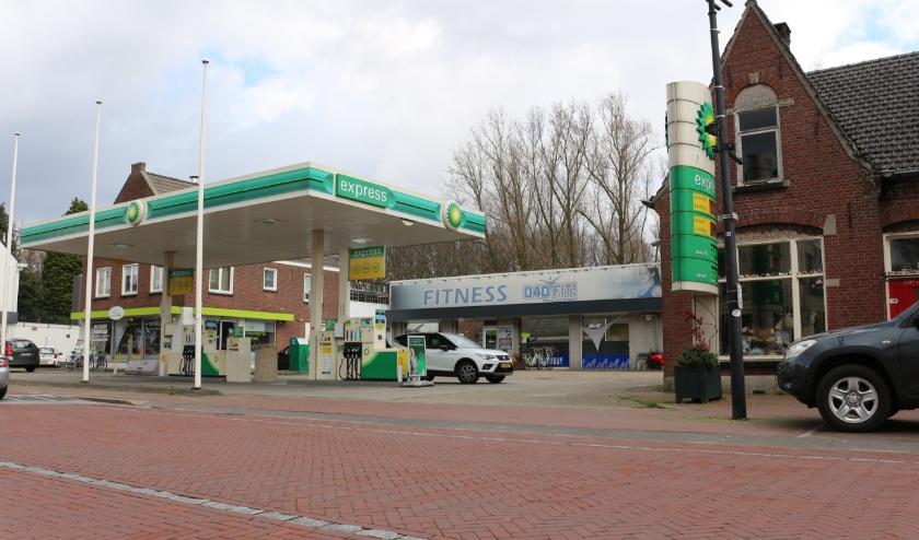 Het terrein van het voormalige garagebedrijf Schilders aan de Kapelstraat in Heeze.