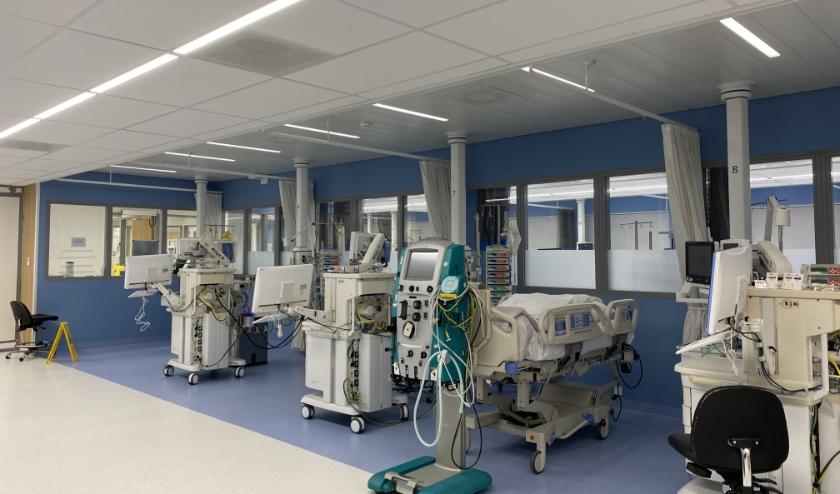 Ziekenhuis Gelderse Vallei breidt het aantal intensive care-bedden uit naar 24 bedden uit.