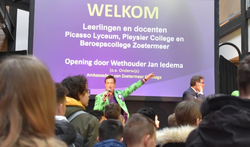 De opening van Zoetermeer On Stage is altijd een feestje. Foto: RM
