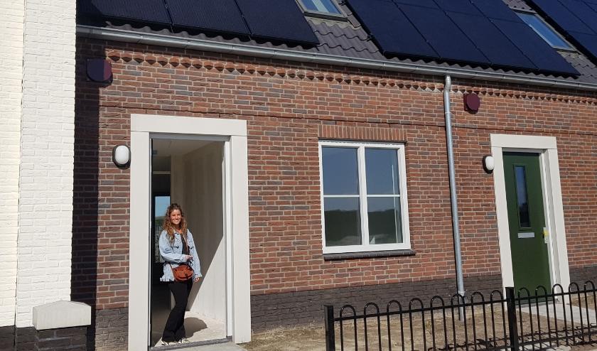 Oplevering huurhuizen nieuwbouwplan Huisackers. FOTO: 'thuis.