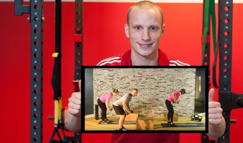 Olav Pranger met Get Healthy TV.