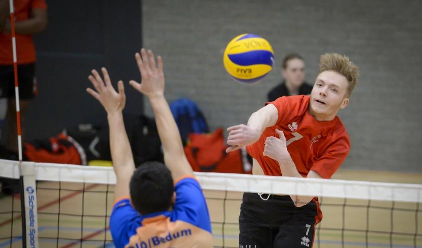 Tom van Reeuwijk zoekt de aanval namens VCN. (Foto: Wijntjesfotografie.nl)