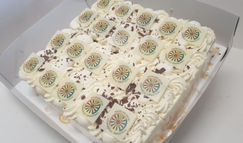 Een deel van de speciale taartjes.