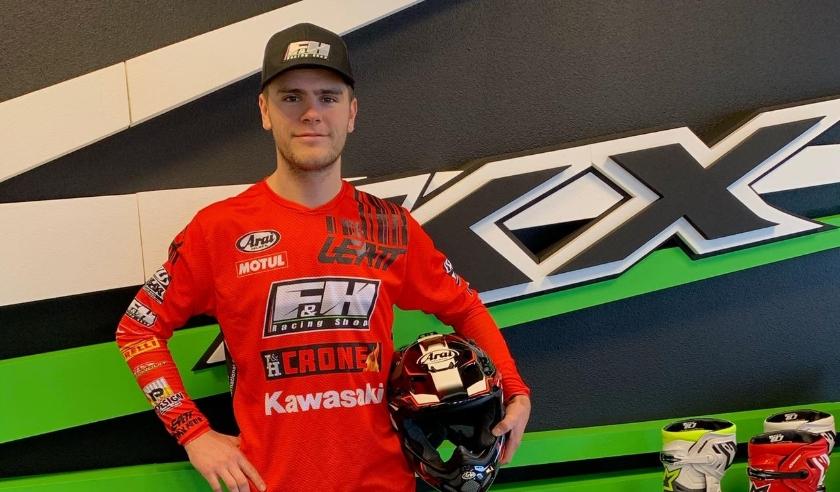 Davy Pootjes (22) werkt sinds december aan zijn ultieme comeback in de internationale motorcross wereld.