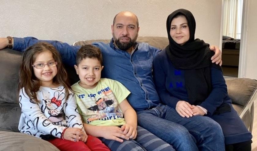 Famili Habibi is erg blij met hun nieuwe woning aan de Idenburglaan in Rijswijk.