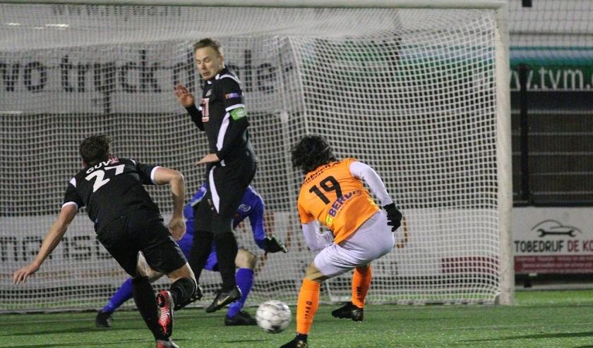 Yessin Maskoul scoort 5-0 voor SVZW