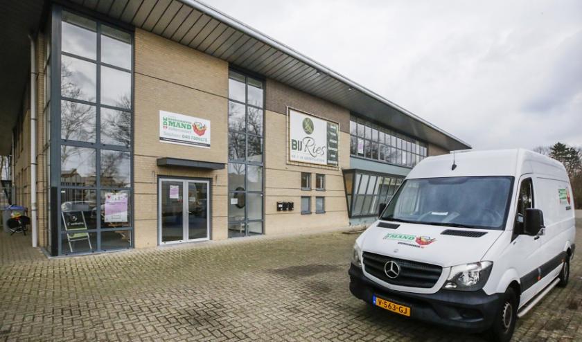 Het nieuwe pand van de Voedselbank aan de Geenhovensedreef. Foto: Jurgen van Hoof.
