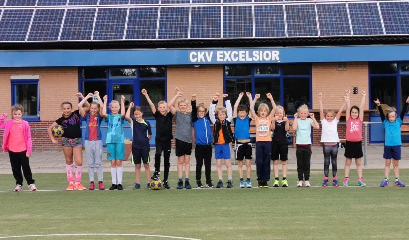De jeugd van C.K.V Excelsior mag eindelijk weer trainen