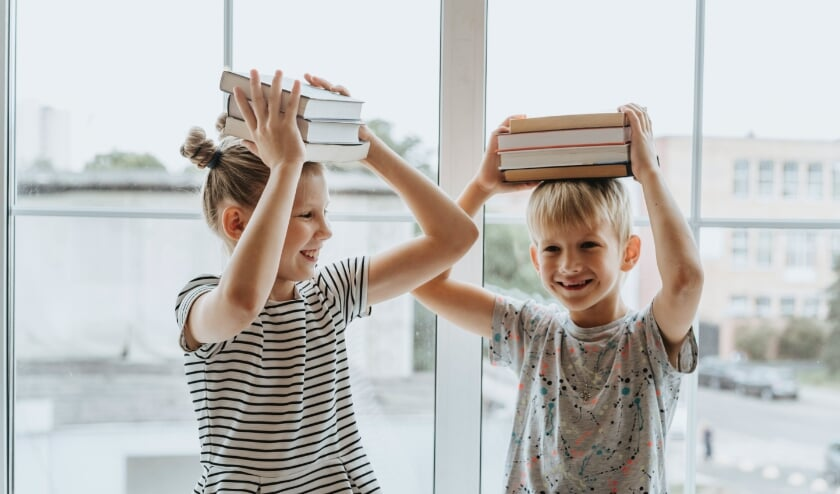 <p>De Kinderboekenweek is de leukste week van het jaar.</p>