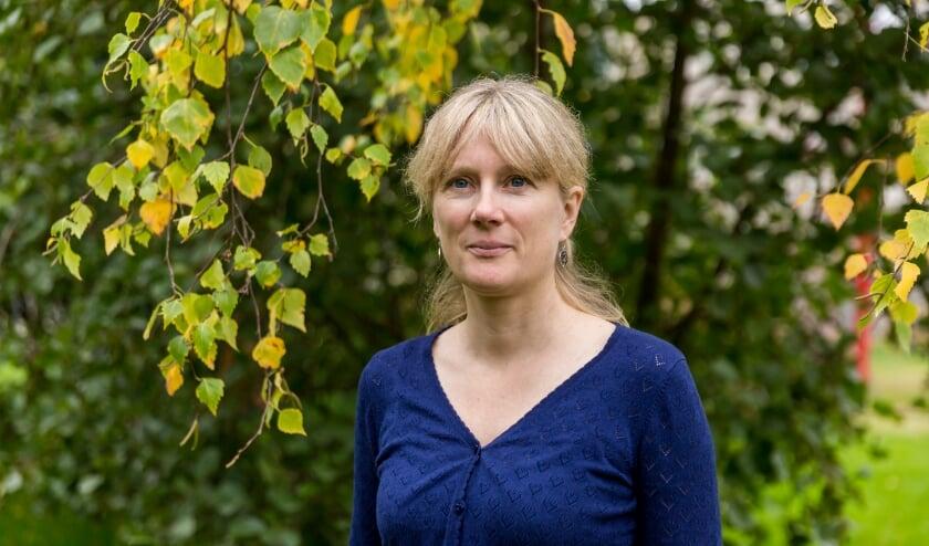<p>Sofie Bakker is actief in het Repair Caf&eacute;</p>