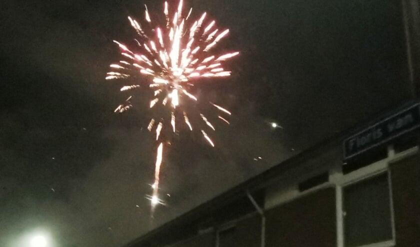 <p>Ondanks het vuurwerkverbod was er toch voldoende te zien tijdens de jaarwisseling.</p>