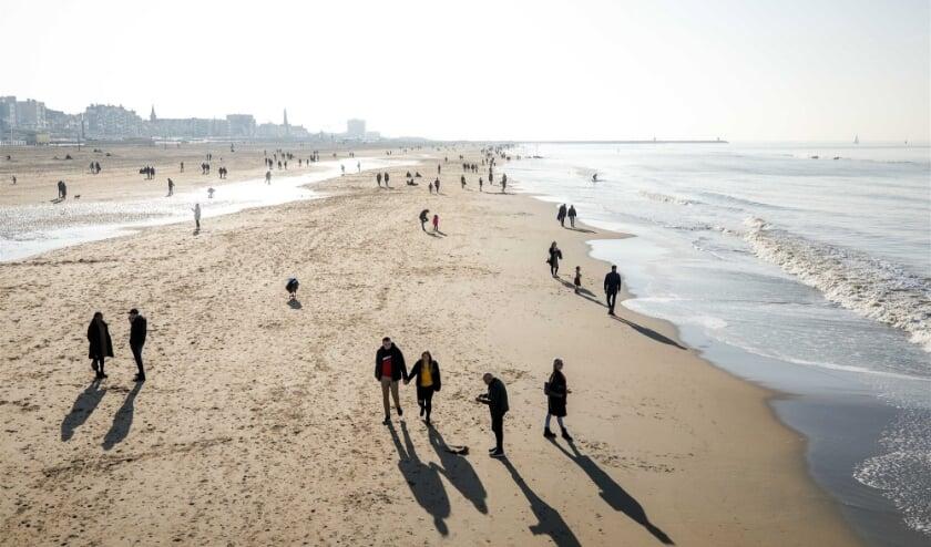 <p>Het strand van Scheveningen. (Foto: ANP / Sem van der Wal)</p>