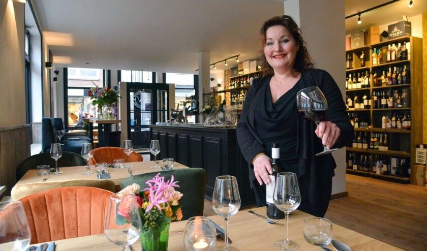 <p>De droom van Frances van de Laar kwam uit met &#39;Gastrovino By Frances&#39; in de Utrechtsestraat 23. (Foto: Paul van den Dungen)</p>