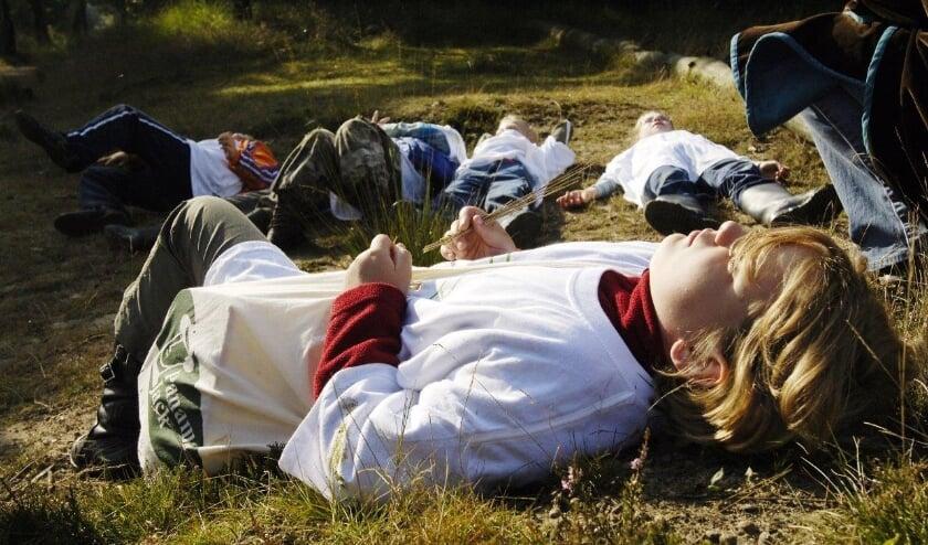 <p>Met Het Bewaarde Land trekken schoolklassen de natuur in.</p>