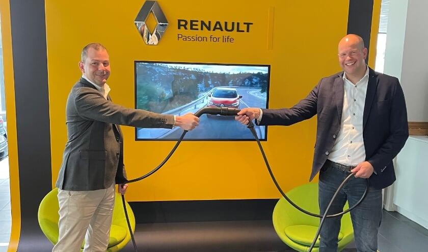 Links: Thijs Bochane. Rechts: Hannes de Paauw