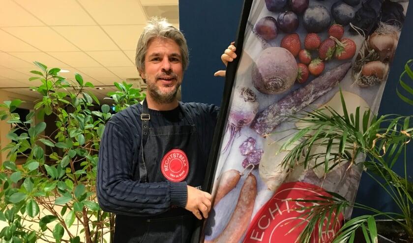 <p>Mike Koot ontving kort geleden zijn eerste klanten in zijn wijkpunt aan de Vlierboomstraat.</p>