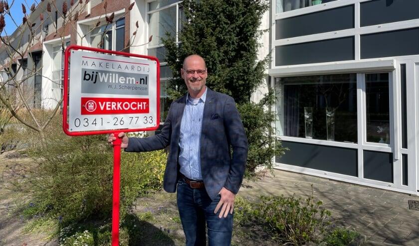 """<p>Willem Scherpenisse: ''Ik pleit voor transparantie tijdens het biedproces voor een eerlijke prijsvorming.""""&nbsp;</p>"""