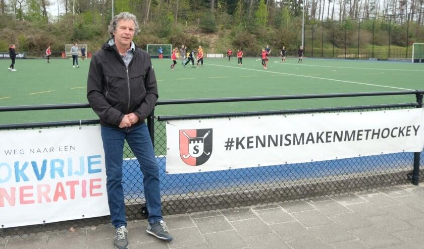 <p>Ton Kamperman coördineert het G-hockey bij vereniging Schaerweijde.</p>