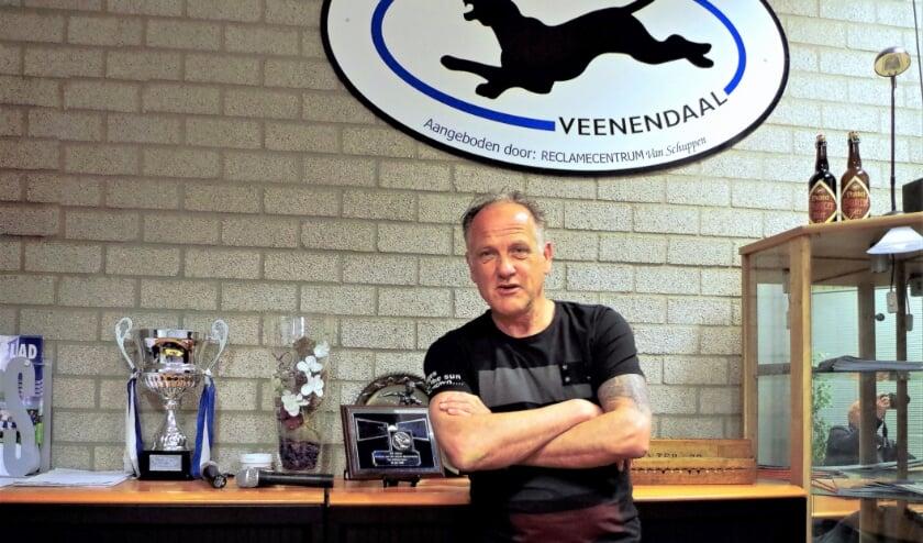 <p>Gerard van de Pavert heeft een uniek concept bedacht voor SV Panter</p>