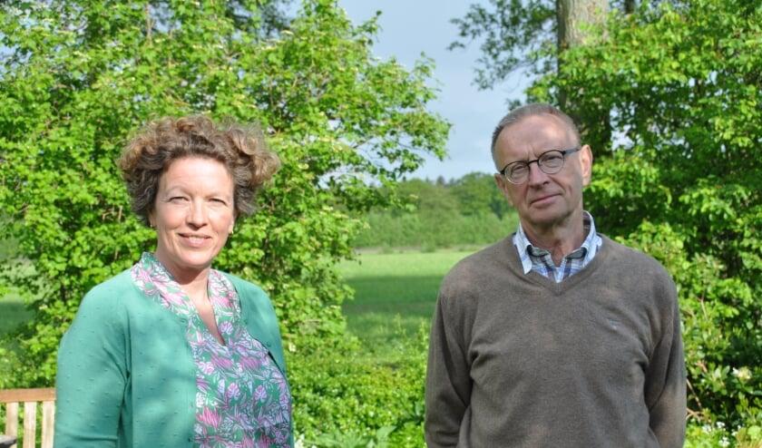 <p>Petra de Dulk uit Bilthoven en Jan Dijkkamp uit Maartensdijk. Twee van de twaalf redactieleden die het advies schreven.</p>