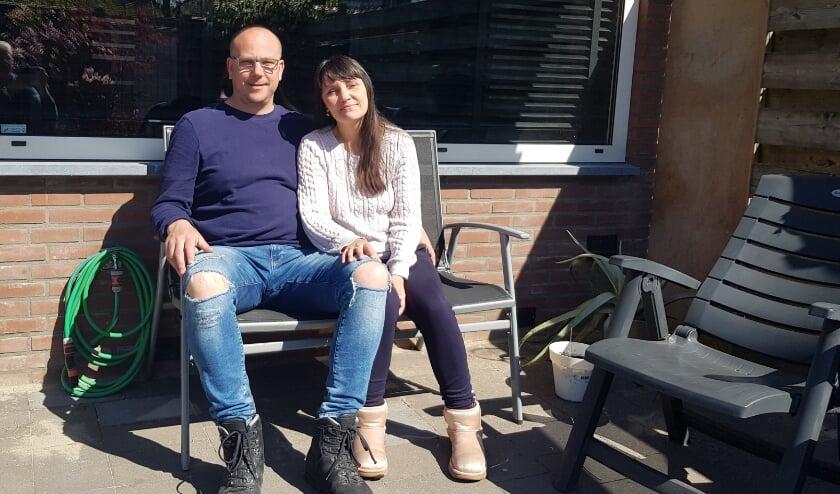 Mickey en Chantal TIggelman hebben hun laatste hoop gevestigd op stamceltherapie in Moskou. (foto: Kees Stap)