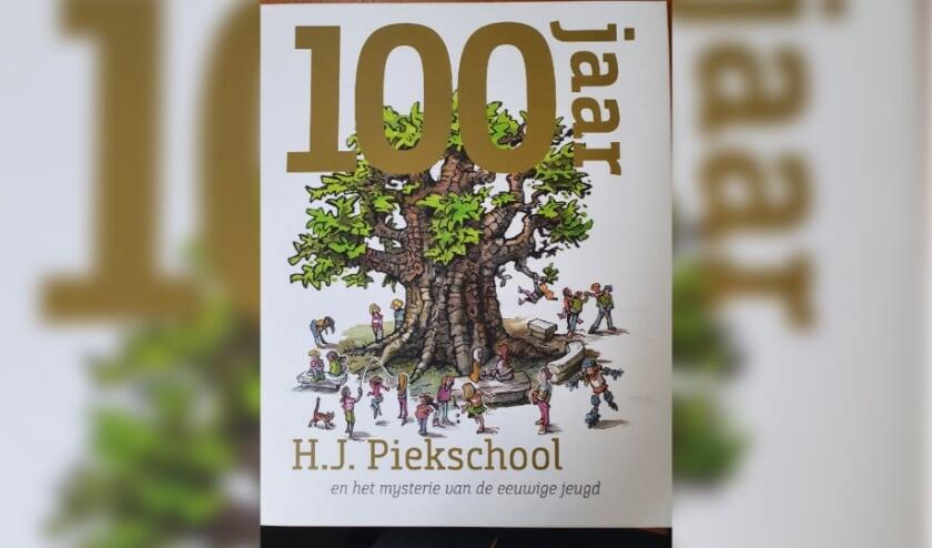 Omslag van het boek 100 jaar HJ Piekschool